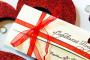 Подарочные сертификаты ко Дню святого Валентина!
