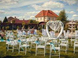 Свадьба в гостинично-ресторанном комплексе «Софиевский Посад»!