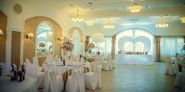 Банкетные залы для свадьбы в гостинично-ресторанном комплексе «Софиевский Посад»!