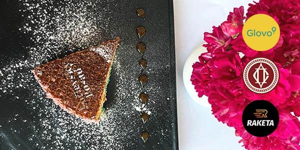 Заказывай через Glovo или Raketa и получай комплимент 🍰🍔 от ресторана!