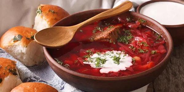 """Ukrainian menu in the restaurant """"Sofiyivsky Posad""""!"""